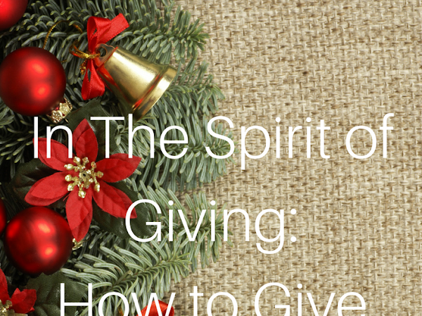 In The Spirit of Giving: How to Give Back to the Community