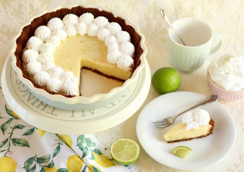 Sommerliche, super cremige Key Lime Pie | Limetten-Tarte Rezept und Video von Sugarprincess