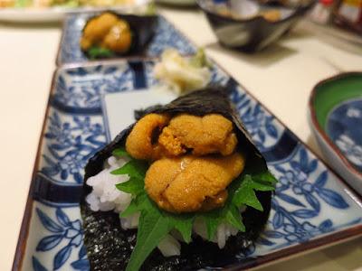 Keria Japanese Restaurant, uni temaki