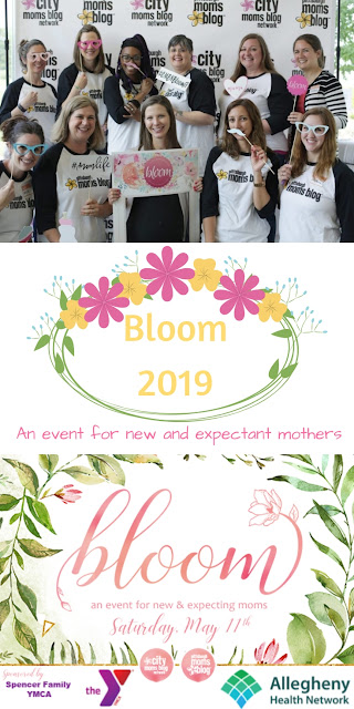 Bloom 2019 - An event for new and expectant mothers in the Greater Pittsburgh area! #bloom #bloom2019 #pittsburgh #pittsburghmomsblog