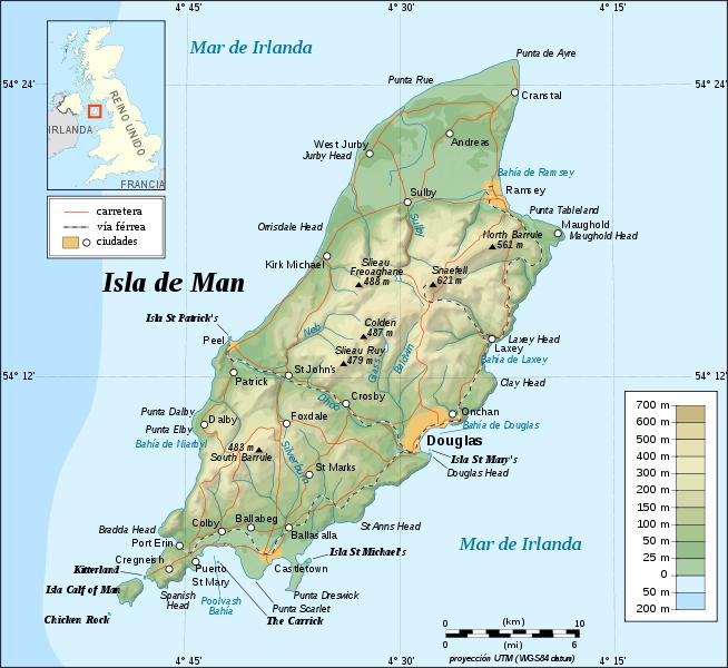 Ilha de Man | Território da Coroa Britânica