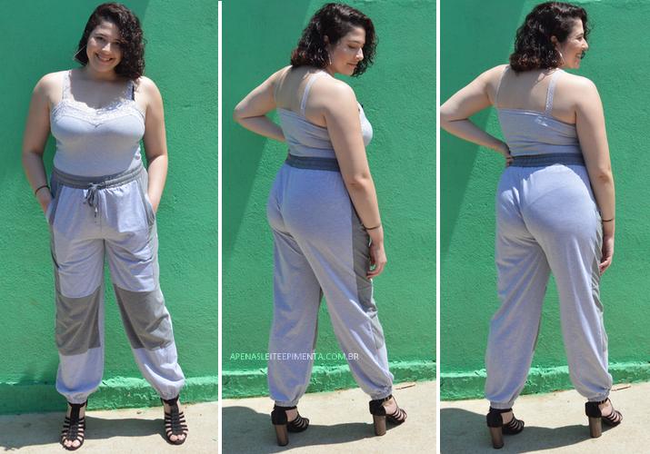 Pants bicolor Dresslily