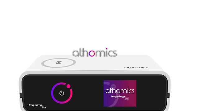 Athomics Inspire Qi Lite Primeira Atualização V1.0.1 - 06/05/2021
