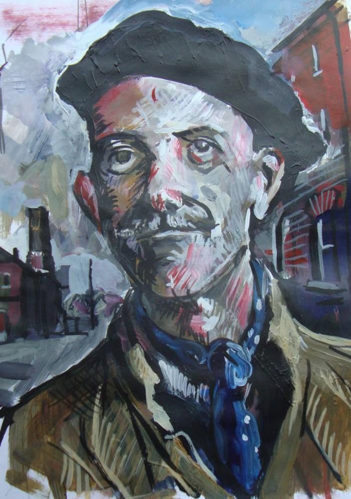 Британский художник. Vincent Donlin