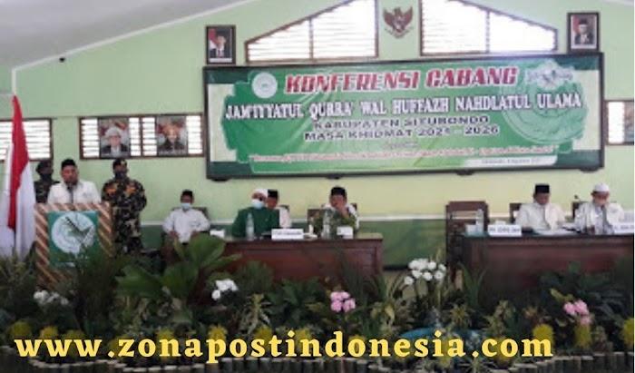 Jam'iyyatul Qurra' Wal Huffazh Nahdlatul Ulama Kabupaten Situbondo, Selenggarakan Konfercab Masa Khidmat 2021-2026