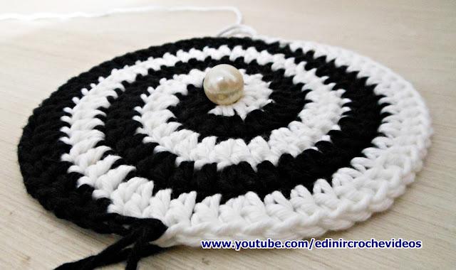 edinir croche ensina Crochê Espiral Blacklist passo a passo com edinir croche no blog aprendercroche e na pagina cursodecroche no facebook