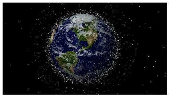 A missão espacial que pretende limpar o lixo do Universo