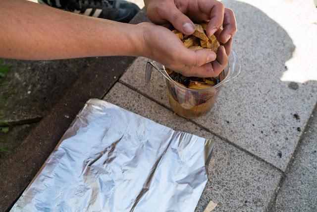 Pulled Pork aus dem Char-Broil Bullet Smoker 10