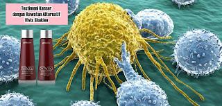 testimoni kanser dengan rawatan alternatif Vivix Shaklee