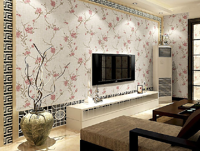 Tips Pilih Model Wallpaper Ruangan Dan Rumah