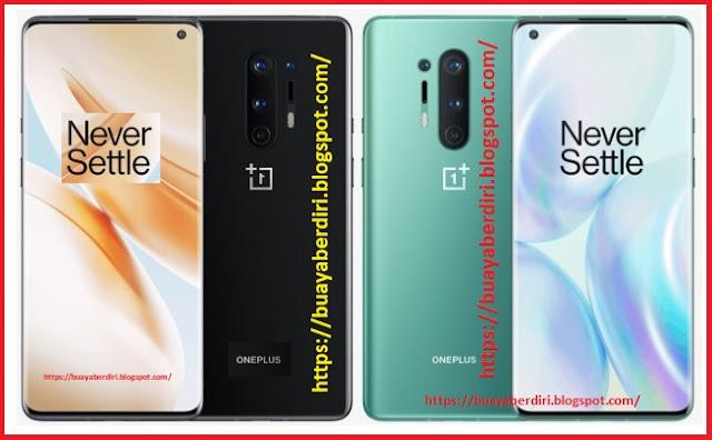 OnePlus 8 Pro 12GB/256GB ( Warna Hitam dan Hijau )