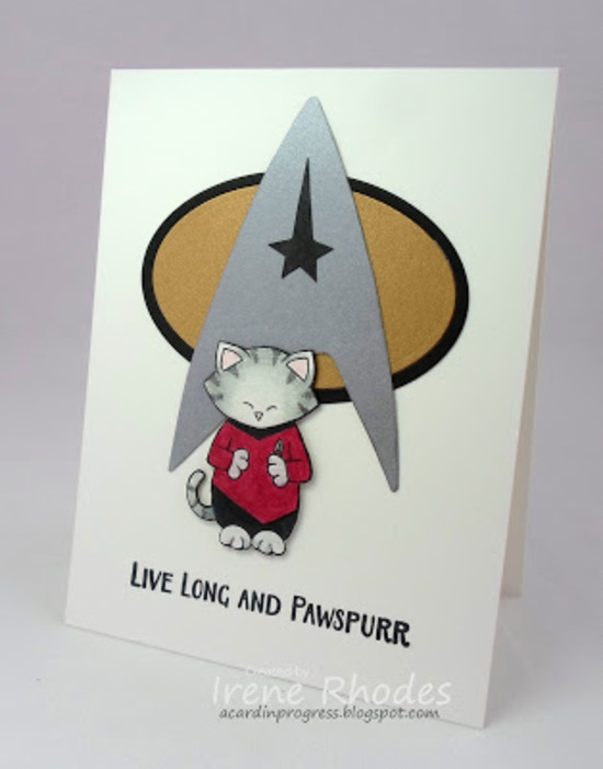 Live Long and Pawspurr by Irene features Sending Hugs by Newton's Nook Designs; #newtonsnook