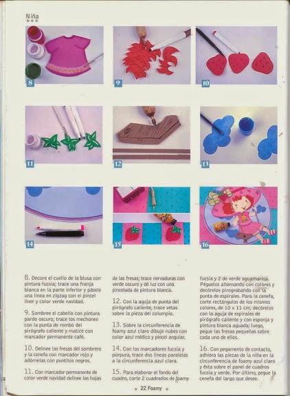 Decoraci n de la casa en foamy revistas de manualidades for Revistas de decoracion gratis