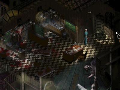 Pantallazo videojuego Sanitarium