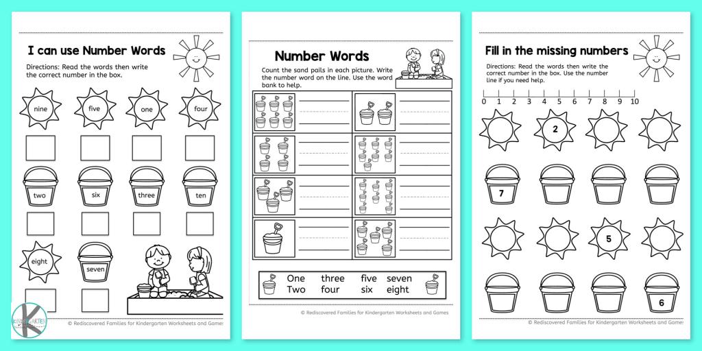 Kindergarten Worksheets and Games: FREE Summer Kindergarten Math ...