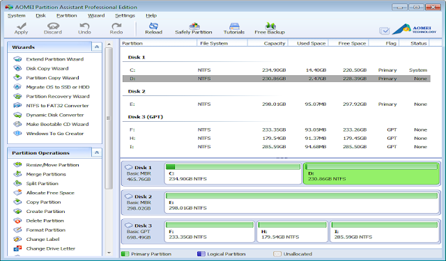 aomei partition assistant professional 6.5 key