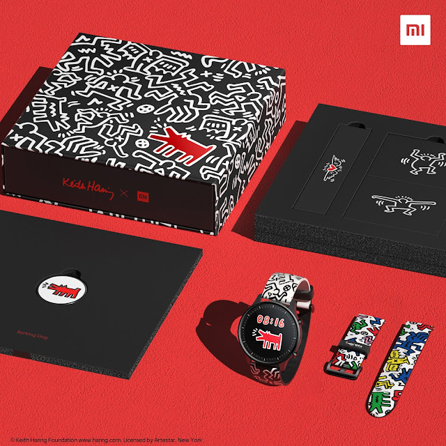 Xiaomi Mi Watch Color Keith Haring Edition - Lindissimo!