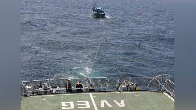 Indian coast guard rescues 9 fishermen
