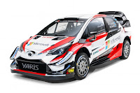 Toyota Yaris WRC 2018 Front Side