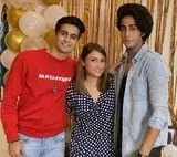 urvashi dholakia with her son's