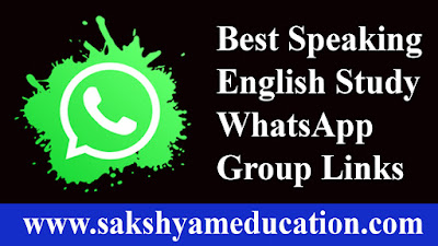 Best Speaking English Study WhatsApp Group Links