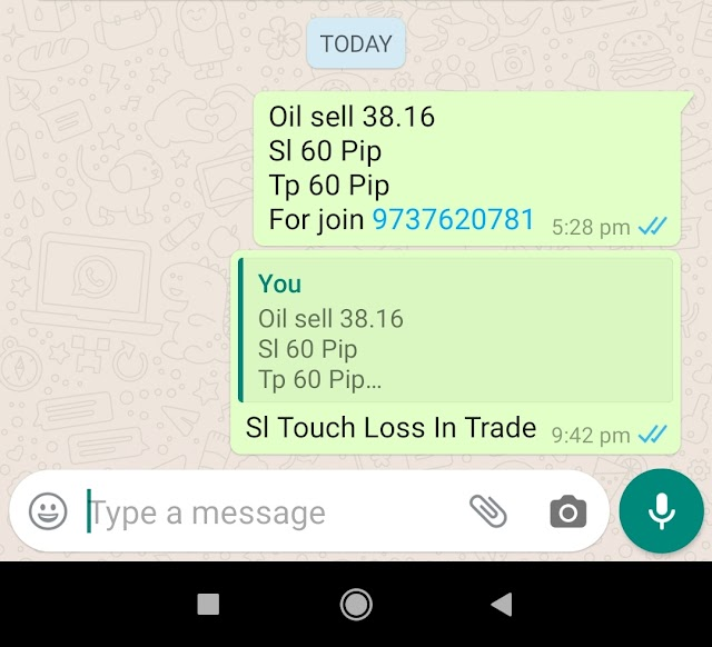 10-06-2020 Forex Trading Commodity Crude Oil Signal Prices