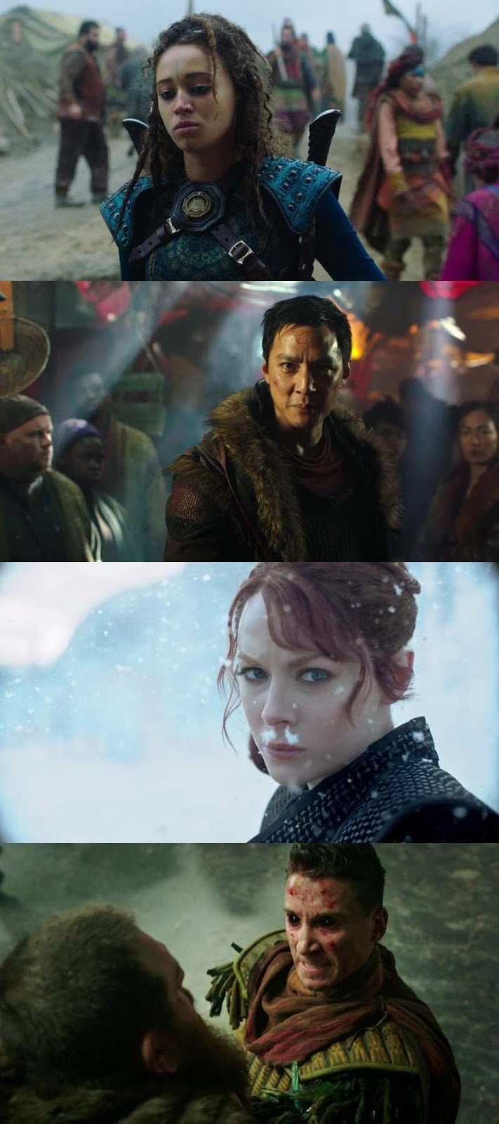 Screen Shoot of Into The Badlands S03 Complete Dual Audio Hindi 720p WEBRip