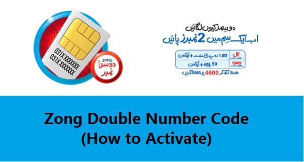 Zong Double Number Code