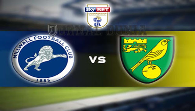 Prediksi Millwall vs Norwich City , Rabu 03 Februari 2021 Pukul 01:00 WIB