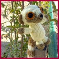 Lemur amigurumi