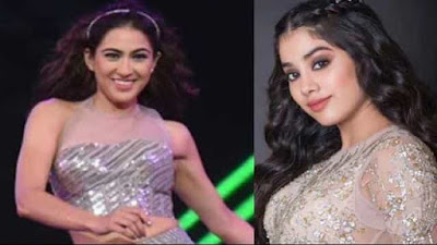 Umang 2019 Sara Khan and Jhanvi Kapoor Dance Video Viral