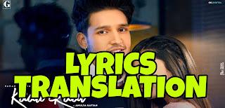 Kaali Raat Lyrics in English | With Translation | – Karan Randhawa