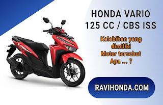 Kelebihan dan Kekurangan Honda Vario 125 Cc CBS ISS 2020