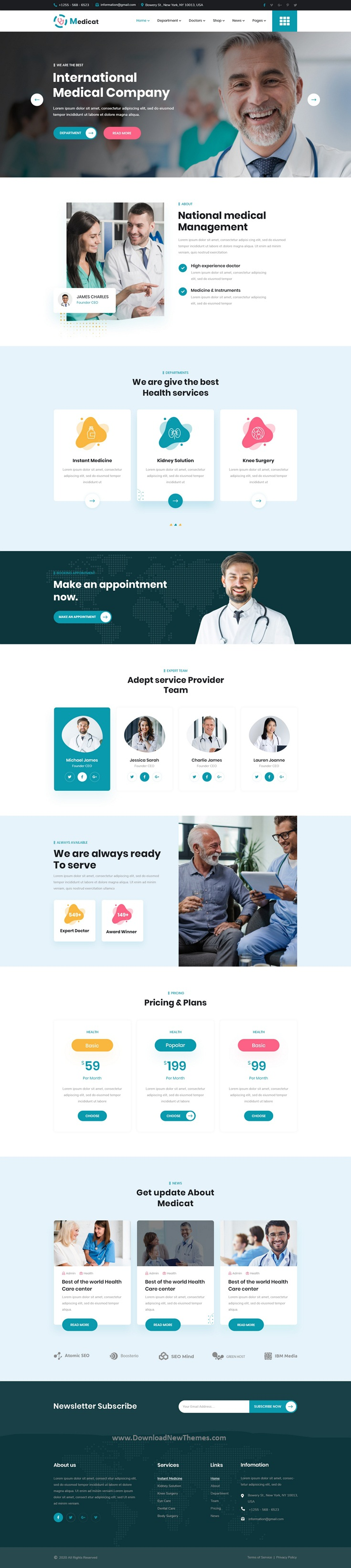 Medical and Health PSD Template