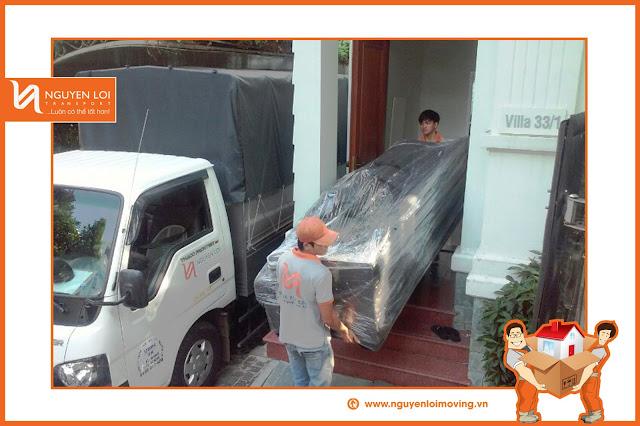 Thuê xe tải chuyển nhà tại TPHCM