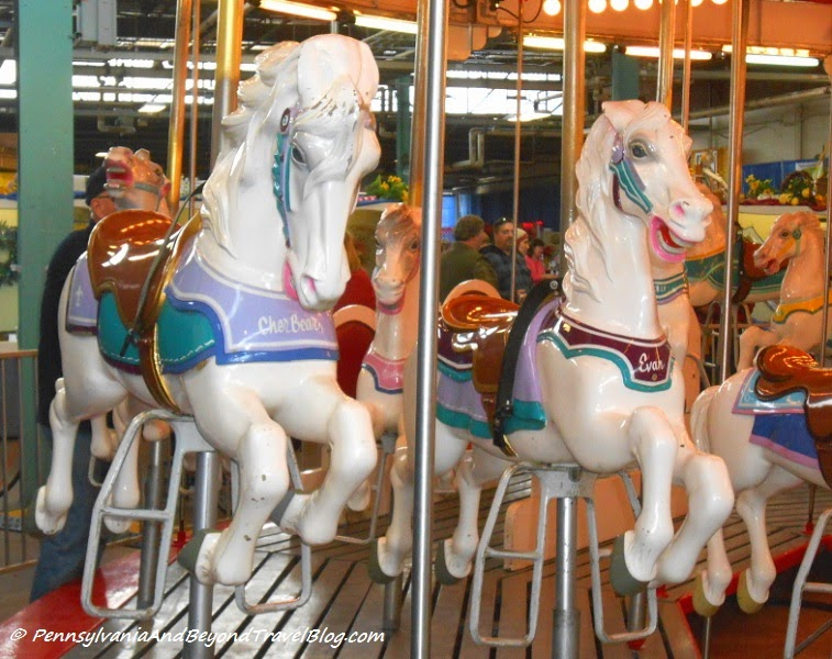 Carousel Merry-Go-Round at the Pennsylvania Farm Show