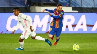 ملخص واهداف مباراة ريال مدريد وبرشلونة (2-1) الدوري الاسباني