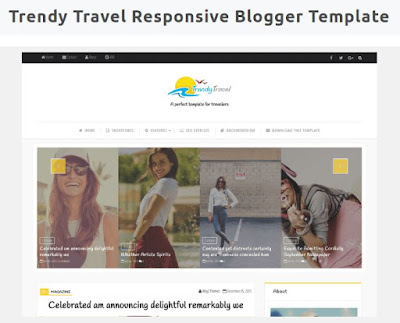 TRENDY TRAVEL | Template Blog Travelling Responsive Dari Way2themes