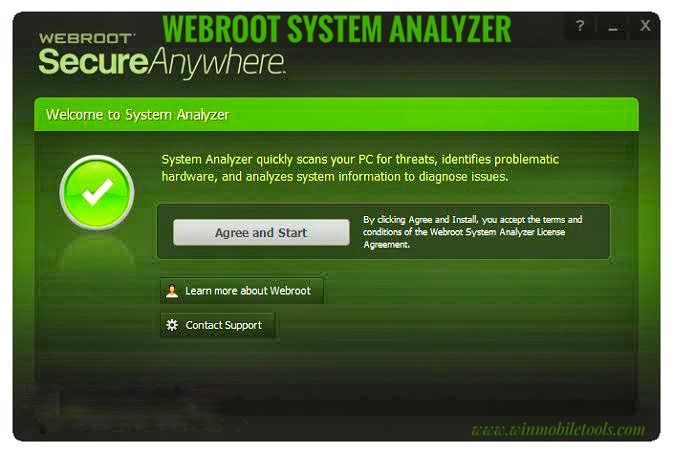 Webroot System Analyzer V9.0.27.64 Latest Setup Free Download