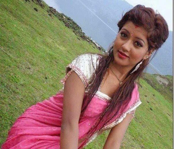 Nepali Heroin Saree Photos