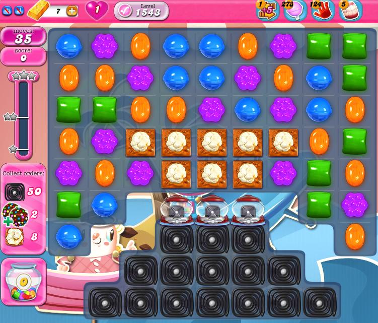Candy Crush Saga 1543