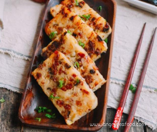 Turnip Cake (Chinese Lo Bak Go)