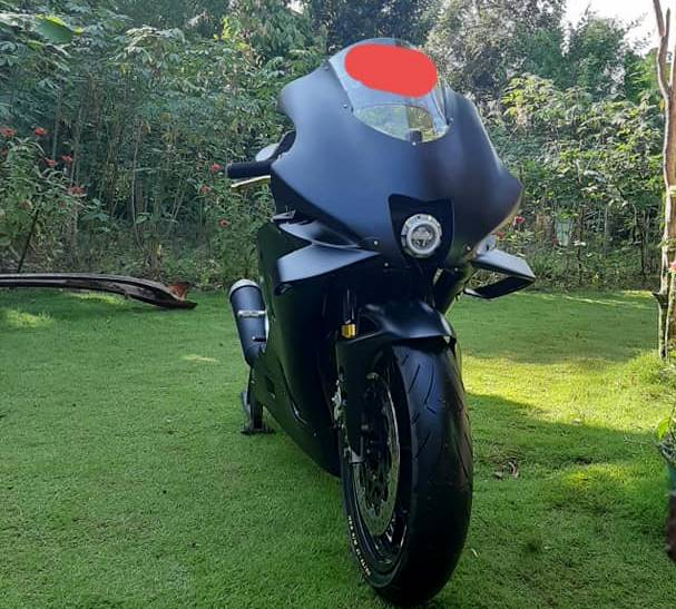 Vixion Modifikasi Full Fairing Yamaha M1 MotoGP