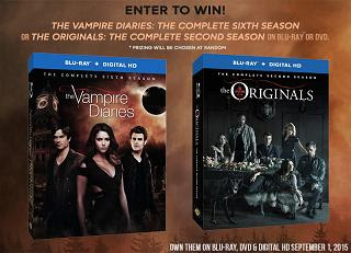 vampire diaries the originals dvd sets