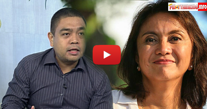 Prof. Edmund Tayao lambasted Robredo's camp for another mind conditioning