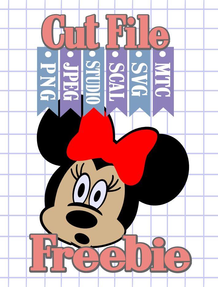 Download The Scrapoholic : Free MTC & SVG Cut Files! DiSNEY Minnie #05