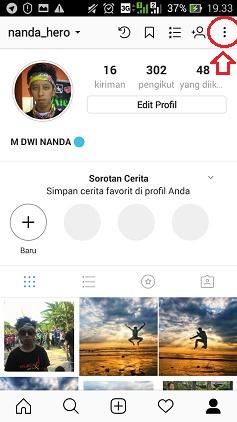 tidak bisa private instagram