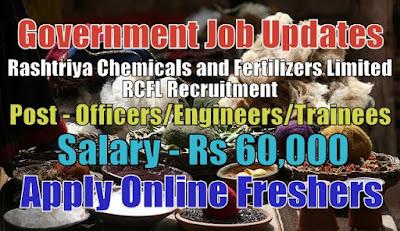 RCFL Recruitment 2020