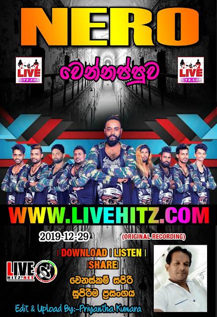 NERO LIVE IN WENNAPPUWA 2019-12-29