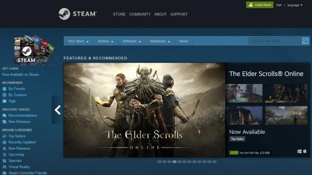 Steam rekomendasi tempat download games pc full version gratis